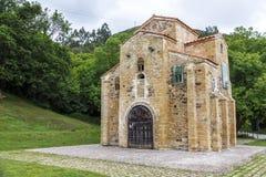 San Miguel de Lillo i Oviedo Arkivfoton