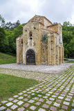 San Miguel de Lillo i Oviedo Arkivbilder