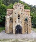 San Miguel de Lillo i Oviedo Fotografering för Bildbyråer
