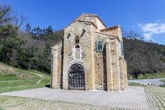 San Miguel de Lillo i Oviedo Royaltyfri Foto