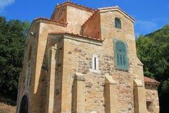 San Miguel de Lillo, Oviedo, España Imágenes de archivo libres de regalías