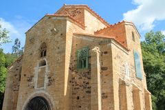 San Miguel de Lillo, Oviedo, Espagne Image stock