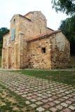 San Miguel de Lillo, Oviedo, Spanien Arkivfoto