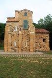 San Miguel de Lillo, Oviedo, Spanien Arkivfoton
