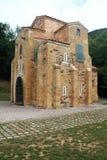 San Miguel de Lillo, Oviedo, Spanien Royaltyfria Bilder