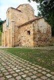 San Miguel de Lillo, Oviedo, Spanien Arkivbild