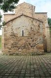 San Miguel de Lillo, Oviedo, Spanien Arkivbilder