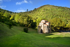 San Miguel DE Lillo Oviedo Spanje Royalty-vrije Stock Afbeeldingen