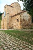 San Miguel de Lillo, Oviedo, Spanje Stock Fotografie