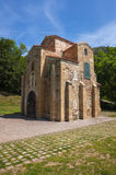 San Miguel de Lillo, pre-romansk kyrka, århundrade IX Arkivbilder