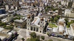 San Miguel De tucumà ¡ n/Tucumà ¡ n/Argentina - 01 01 19: Katedra Nasz dama inkarnacja, San Miguel De tucumà ¡ n, Argentyna obraz stock