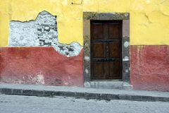 San Miguel Doorway Stock Images