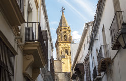 San Miguel Kirche, Jerez de la Frontera, Spanien Stockbilder