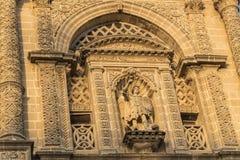 San Miguel Kirche, Jerez de la Frontera, Spanien Stockbild