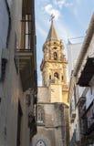 San Miguel Kirche, Jerez de la Frontera, Spanien Lizenzfreie Stockfotos