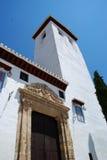 San Miguel kościół, Granada zdjęcia stock