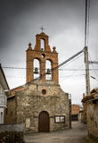 San Miguel kościół w Olleros De Tera, Zamora Obrazy Stock
