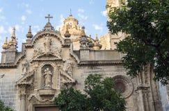 San Miguel kyrka, Jerez de la Frontera, Spanien royaltyfri fotografi