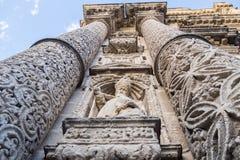 San Miguel kyrka, Jerez de la Frontera, Spanien arkivbild