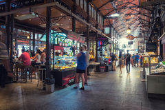 San Miguel market in Madrid Royalty Free Stock Image