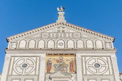 San Miniato al Monte basilica in Florence, Italy. Royalty Free Stock Photo