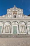 San Miniato al Monte basilica in Florence, Italy. Stock Image
