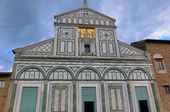 San Miniato al Monte is a basilica in Florence, Italy Royalty Free Stock Photography
