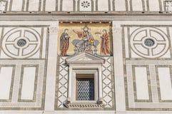 San Miniato al Monte basilica in Florence, Italy. royalty free stock image
