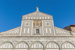 San Miniato al Monte basilica in Florence, Italy. royalty free stock photography