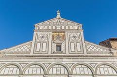 San Miniato al Monte bazylika w Florencja, Włochy Fotografia Royalty Free