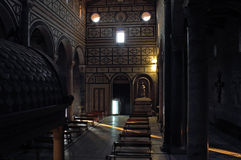 San Miniato al Monte in Florence Stock Images