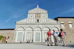 San Miniato al Monte in Florence,Italy Royalty Free Stock Images