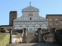 San Miniato Church Florence Stock Photo