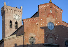The San Miniato's Cathedral Stock Images