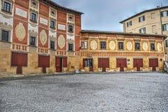 San Miniato seminary. Old seminary building in San Miniato, Tuscany Royalty Free Stock Photo