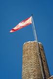 San Miniato, torre della fortezza di Federico II Immagine di colore Immagine Stock