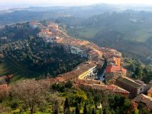 San Miniato, Tuscany, Włochy fotografia royalty free