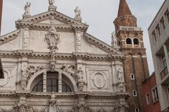 San Moisè Venetië royalty-vrije stock foto