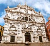 San Moisè Church In Venice, Italy Stock Image