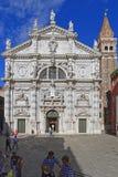 San Moise Veneza fotografia de stock