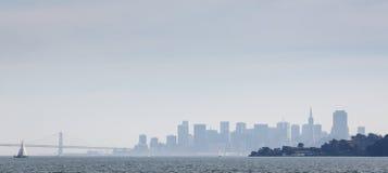 San monocromático Francisco Skyline Fotografía de archivo libre de regalías