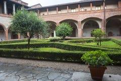 San Nazzaro Sesia (Novara), abadía Fotos de archivo