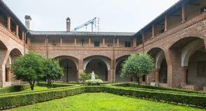San Nazzaro Sesia (Novara), abadía Imagen de archivo libre de regalías