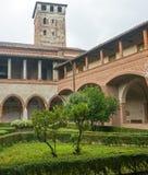 San Nazzaro Sesia (Novara), abadía Fotos de archivo libres de regalías