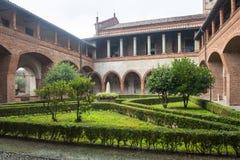 San Nazzaro Sesia (Novara), abbazia Immagine Stock Libera da Diritti