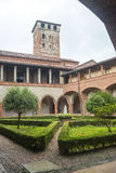 San Nazzaro Sesia (Novara), abbey Royalty Free Stock Photo