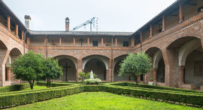 San Nazzaro Sesia (Novara), abbey Royalty Free Stock Image