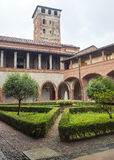 San Nazzaro Sesia (Novara), abbey Royalty Free Stock Photography