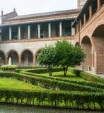 San Nazzaro Sesia (Novara), abbey Royalty Free Stock Photos