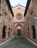 San Nazzaro Sesia (Novara), abbey Royalty Free Stock Images